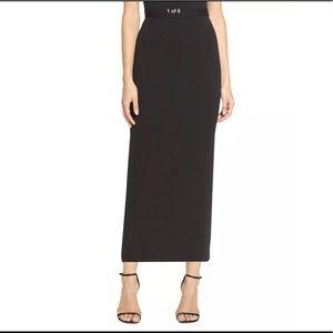 ST. JOHN Basics Knit Skirt Maxi / Midi Slim Fit